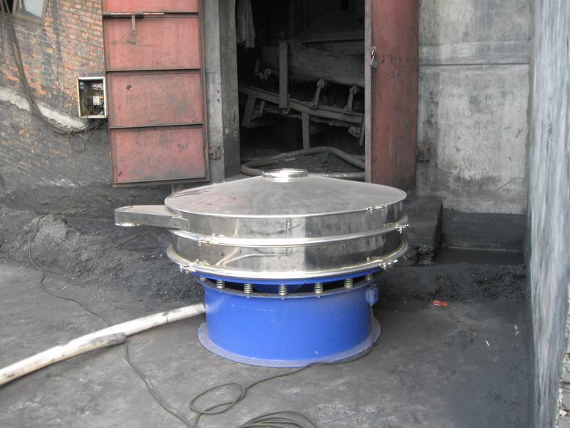 水煤漿振動篩使用現場