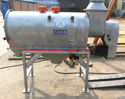 WQS50-130臥式氣流篩分機